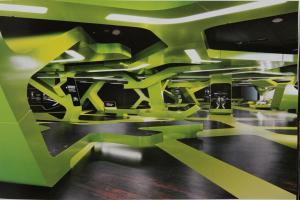 健身房造型铝板