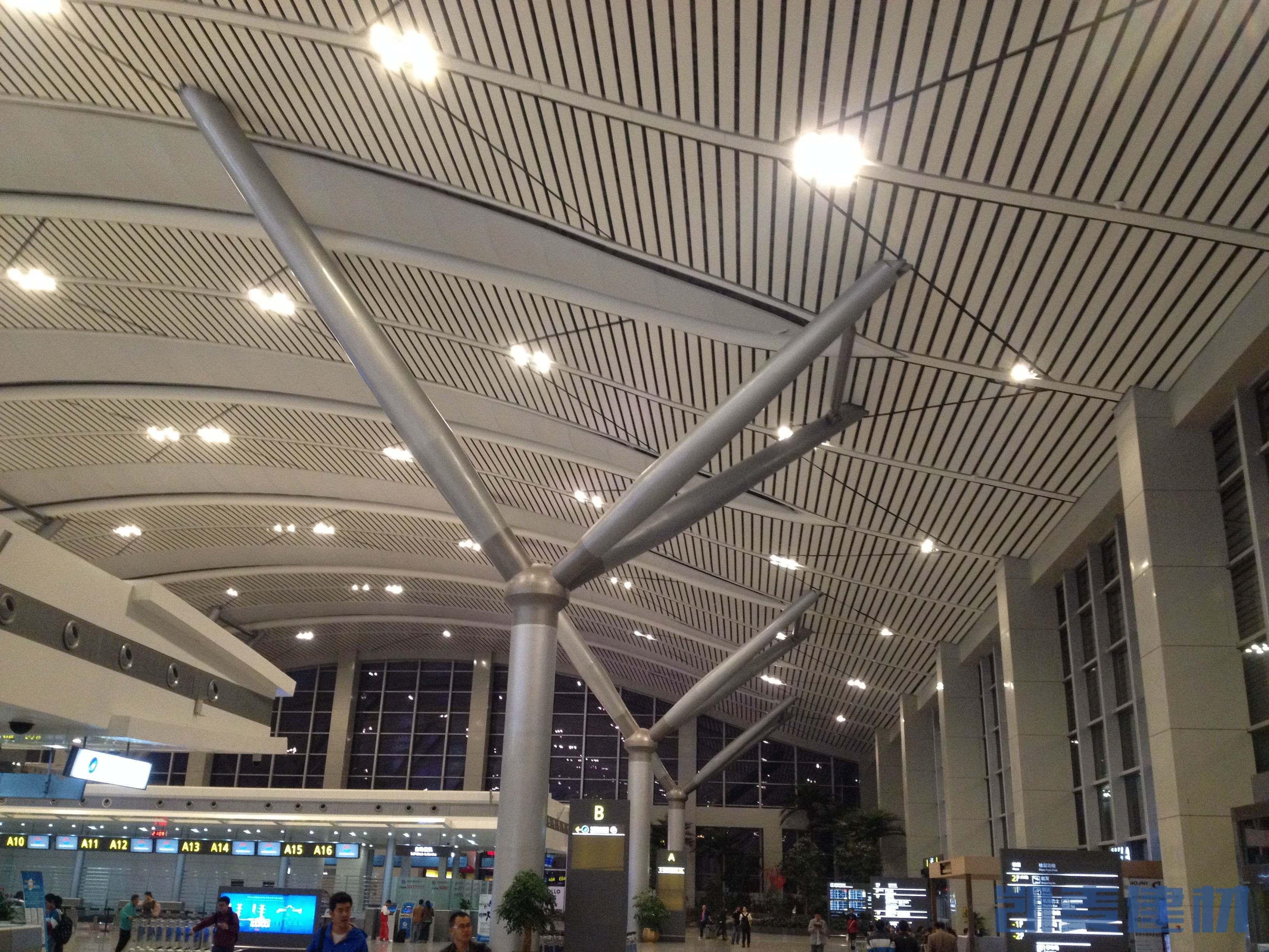 机场大厅专用吊顶铝方通