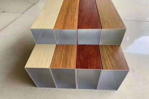 各种规格颜色木纹铝方管