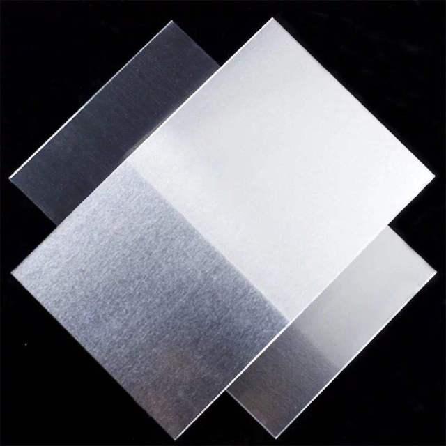 原色拉丝氧化铝板
