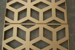 金色镂空铝单板