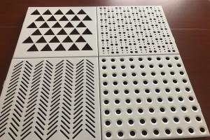 铝单板各种冲孔孔型
