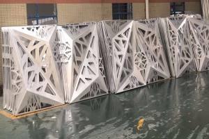 凹凸雕花铝单板