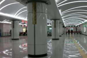 地铁烤瓷铝单板包柱