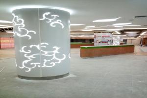 阿联酋机场地铁站幕墙铝板