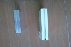 凹槽形型材铝方通俯视视角