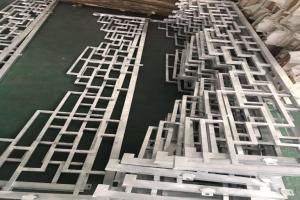 焊接铝花格
