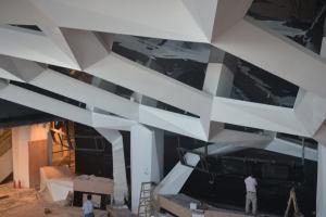 框架造型吊顶铝单板