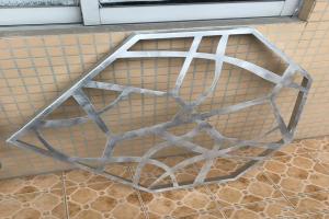 六边形雕花铝板