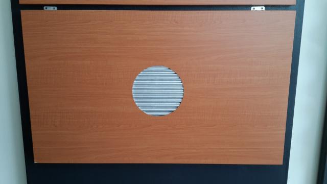 木纹铝瓦楞板墙面安装