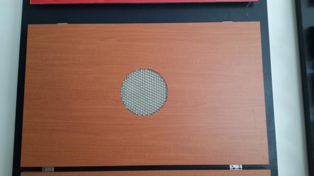 木纹铝蜂窝复合板