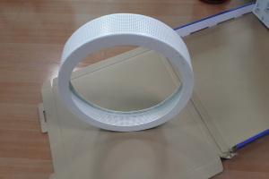 圆环造型冲孔铝单板