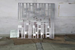 激光雕刻铝单板