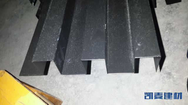 50*50黑色长城铝单板