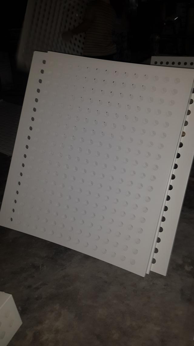 25mm宽直排冲孔铝板
