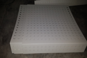 冲孔铝单板包墙