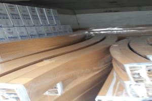 木纹铝型材拉弯