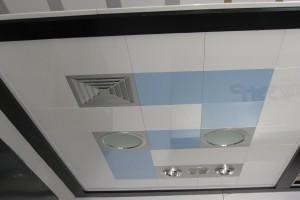 厨房抽风一体化铝扣板