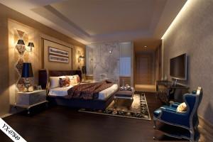 卧室铝屏风