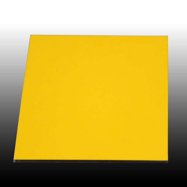 铝单板表面喷黄色氟碳漆