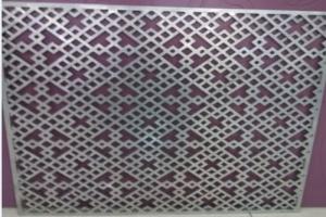 厚铝板雕刻中式窗花