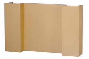 金色外墙弓字形铝单板