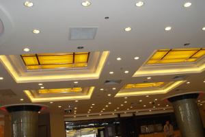 大堂天井造型铝单板