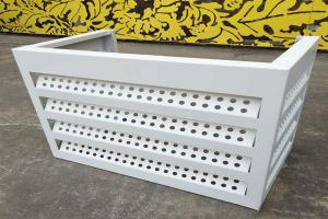冲孔铝板空调罩