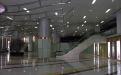 商场大堂弧形铝条扣吊顶