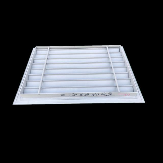 鋁合金工字框外墻防雨防沙通風百葉窗