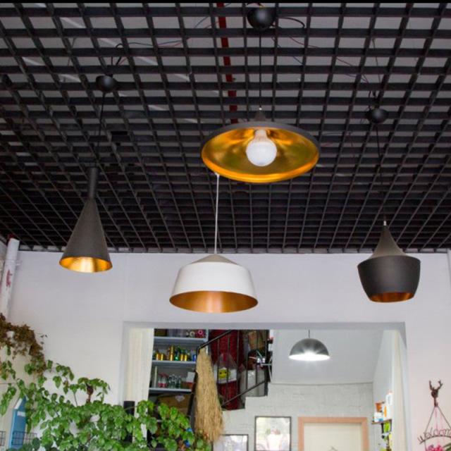 小餐厅吊顶铝格栅