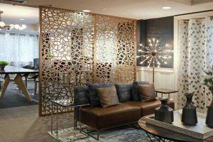 家装立式铝合金屏风