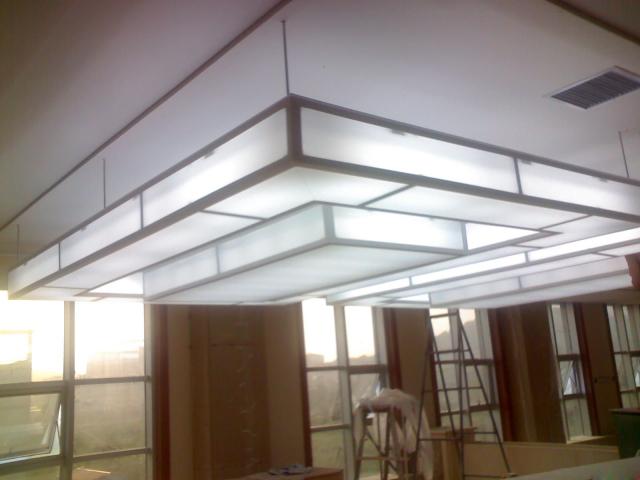铝单板吊顶和软膜天花