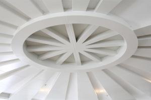 圆形发散状吊顶铝单板