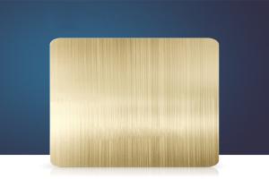 金色长拉丝氧化铝板