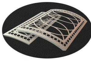 弧形镂空铝单板