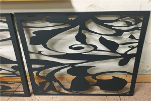 黑色镂空铝单板