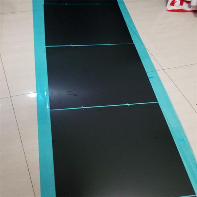 黑色喷砂氧化铝板