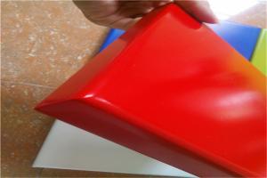 红色烤瓷铝板
