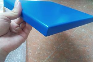 蓝色烤瓷铝板