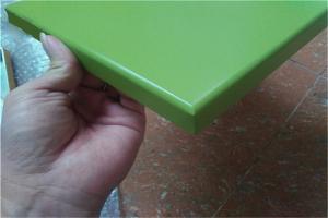 绿色烤瓷铝板