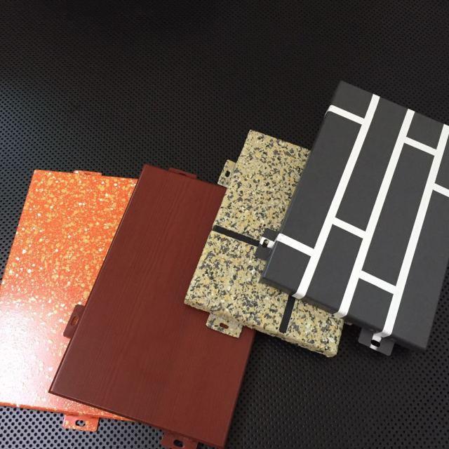 各种图案热转印纹理铝单板
