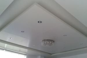 室内中央吊顶铝单板