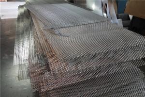 铝拉网板芯成品