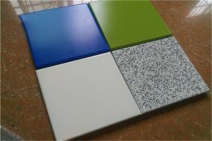 氟碳和石纹铝单板