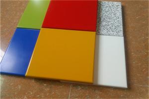 纯色烤瓷铝单板