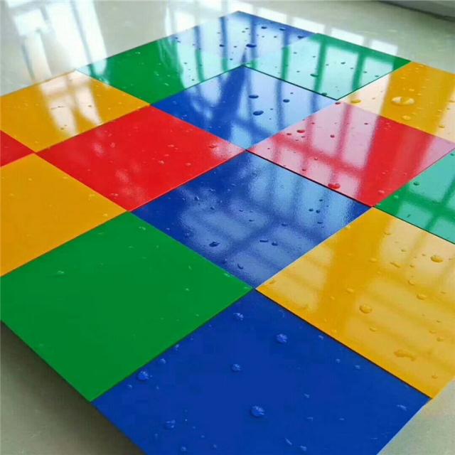 各种颜色高光烤瓷铝单板