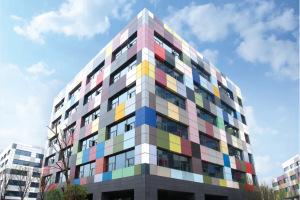 个性公寓外墙铝单板