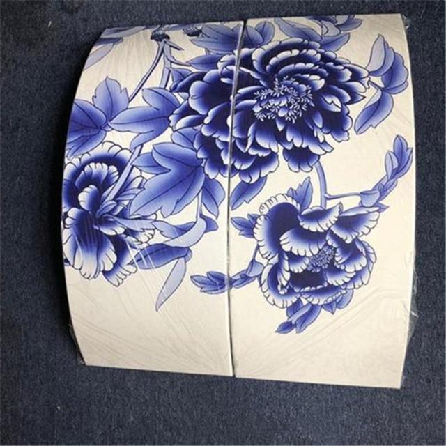 弧形青花瓷铝单板