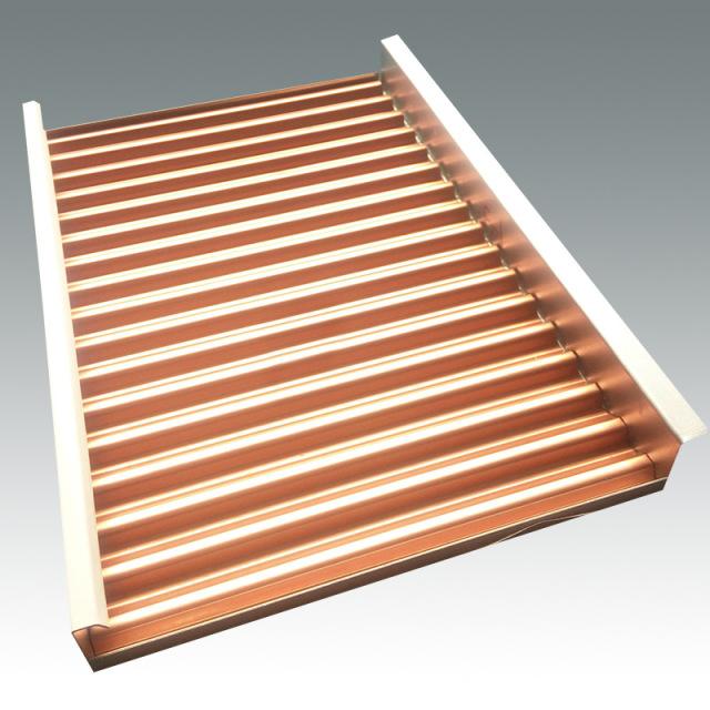 单面勾搭瓦楞铝板